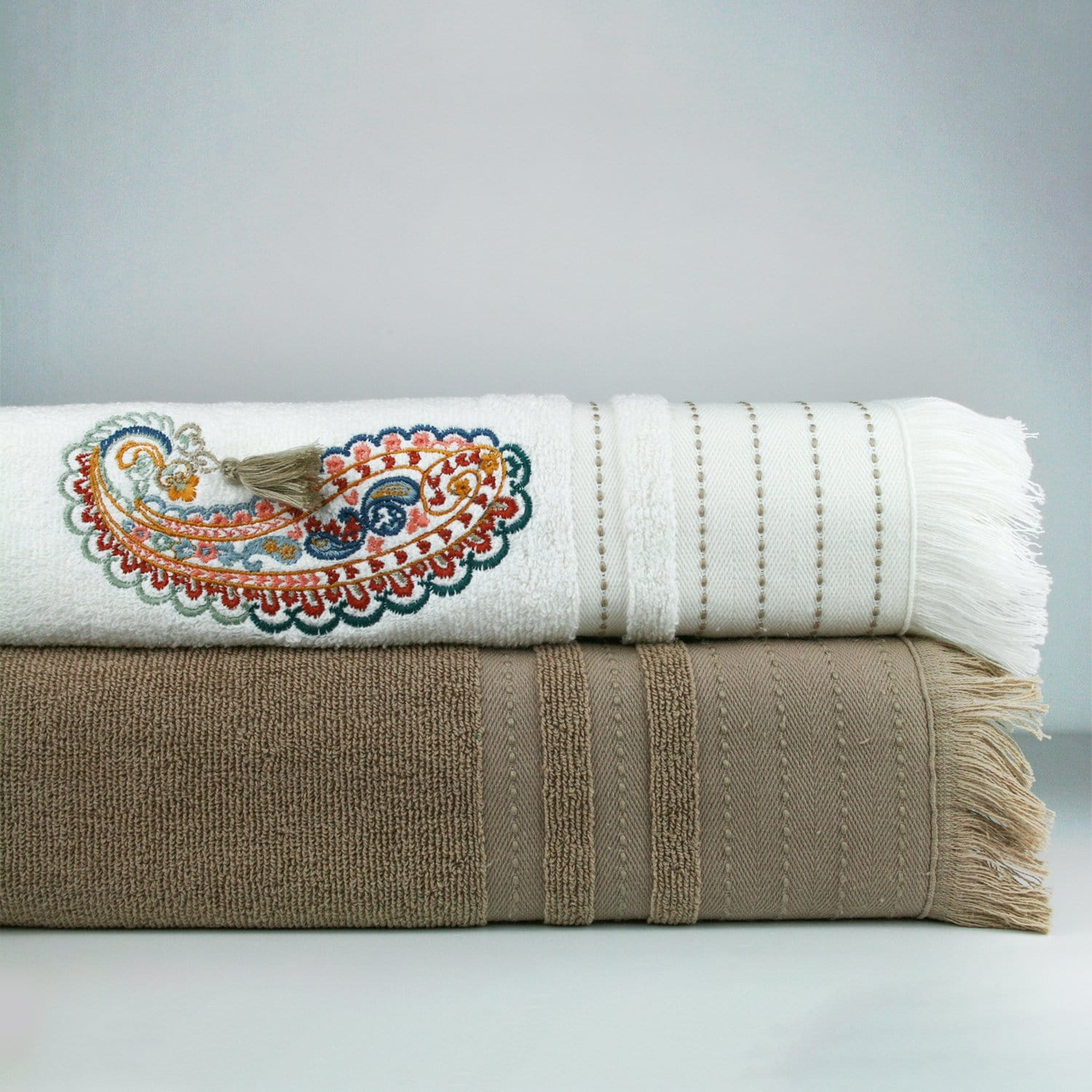 Cappuccino Turkish Hammam Towel