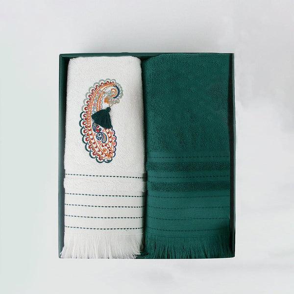 Emerald Turkish Hammam Towel