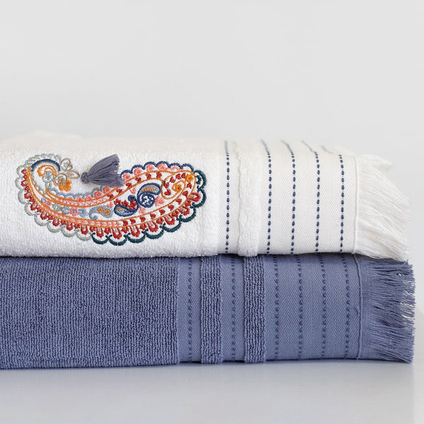 Cobalt Turkish Hammam Towel