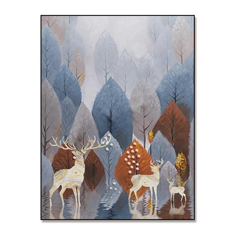 Enchanted Forest Stretched Canvas