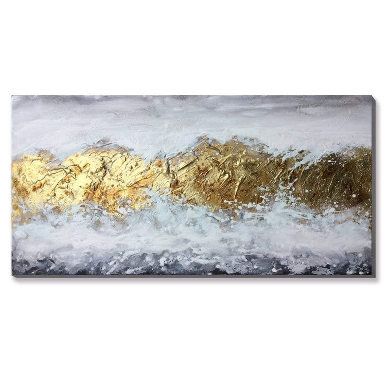Golden Range Oil Painting