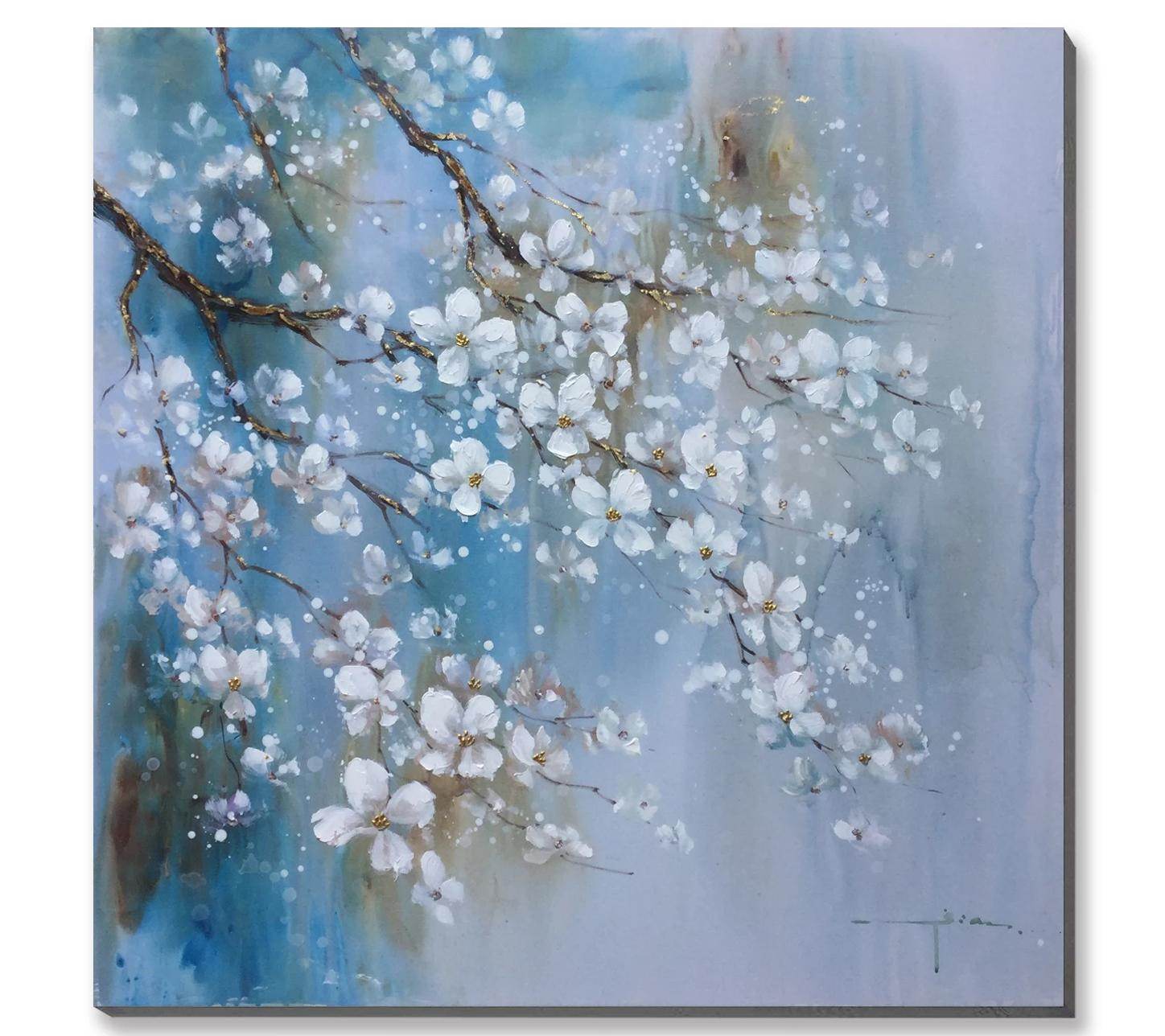 Spring Blossom Oil Painting