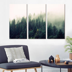 Forever Green Stretched Canvas