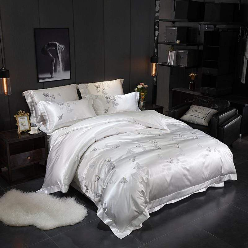 Platinum Falls Duvet Cover Set