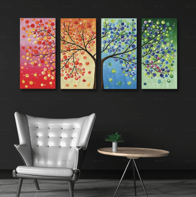 Tree of Life Stretched Canvas