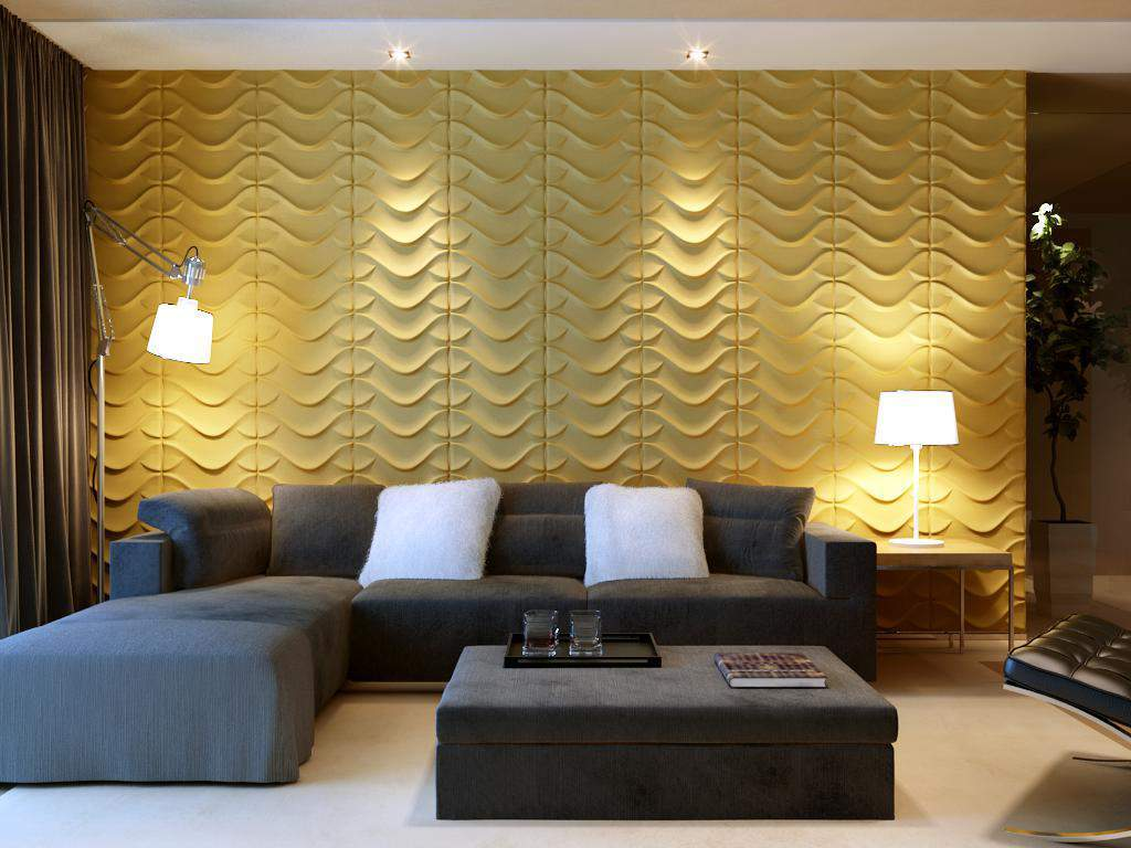 Dragon Square Styled Acoustic 3D Wall Panel