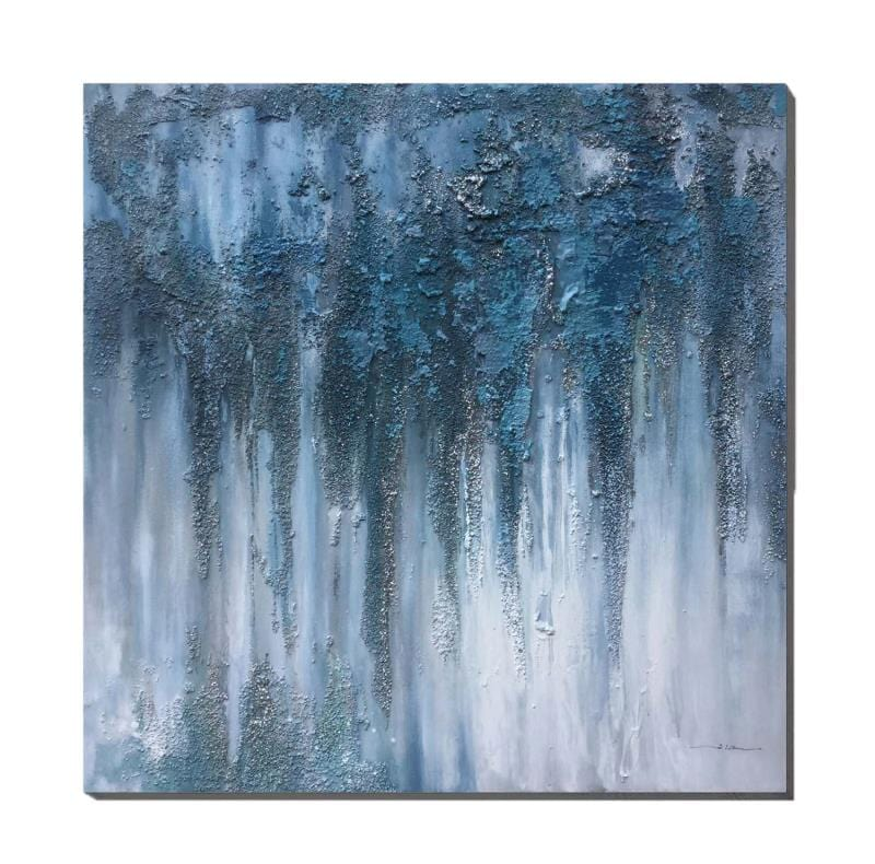 Downtrodden Drip Oil Painting
