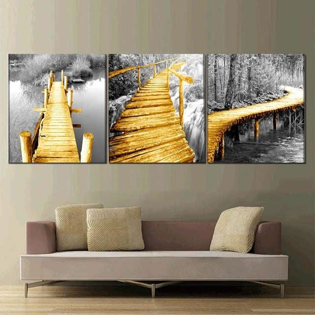 Walk in Sight Stretched Canvas