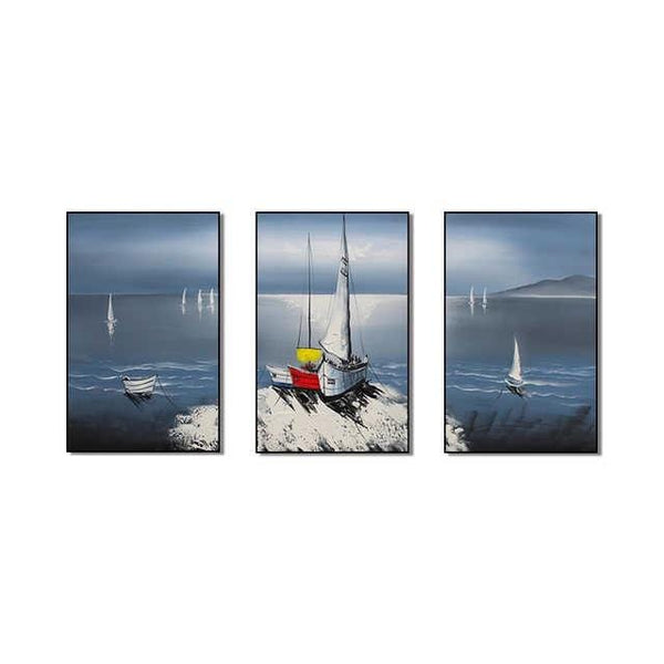 Paradise Sail Stretched Canvas