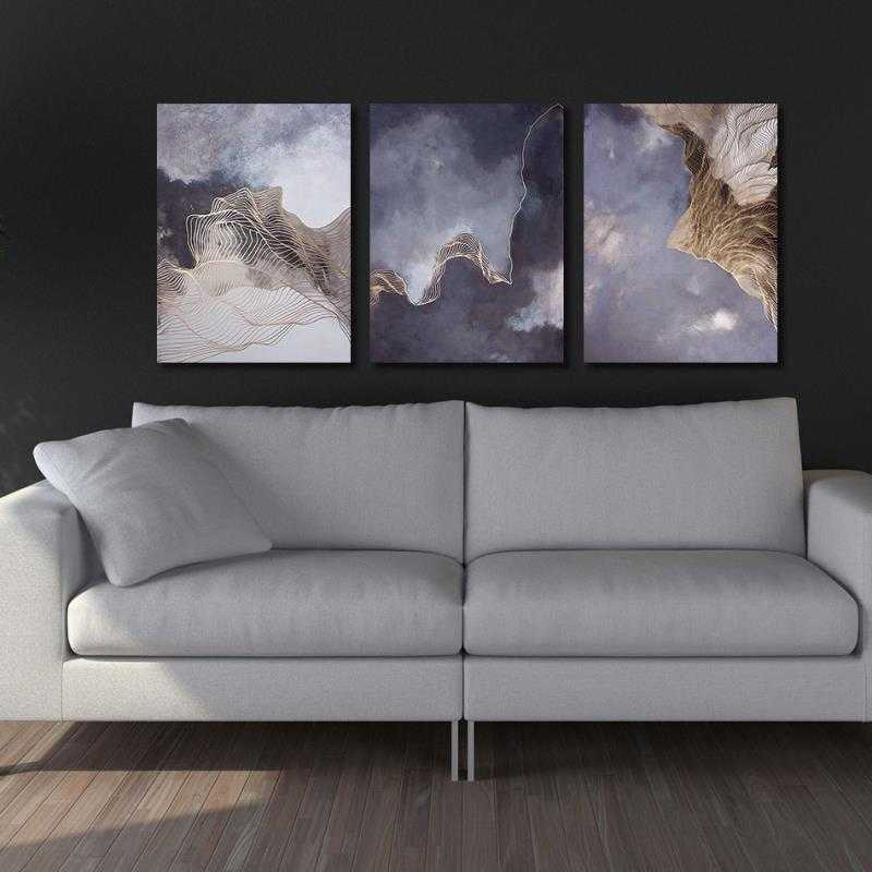 Hopeful Smoke Stretched Canvas