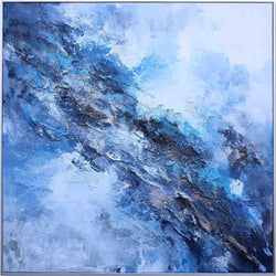 Regular Blues Oil Painting
