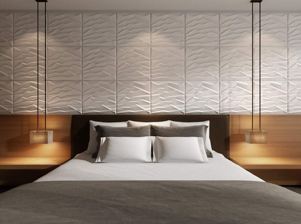 Rocky Mountain Square Styled Acoustic 3D Wall Panel