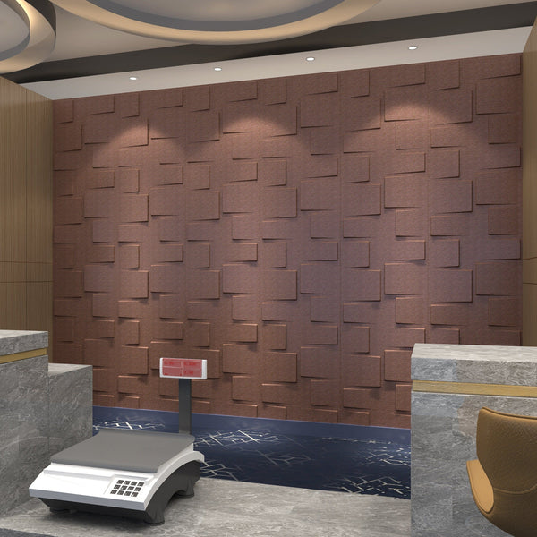 Rubik Square Styled Acoustic 3D Wall Panel