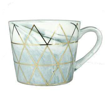 Gold Triangle Mug