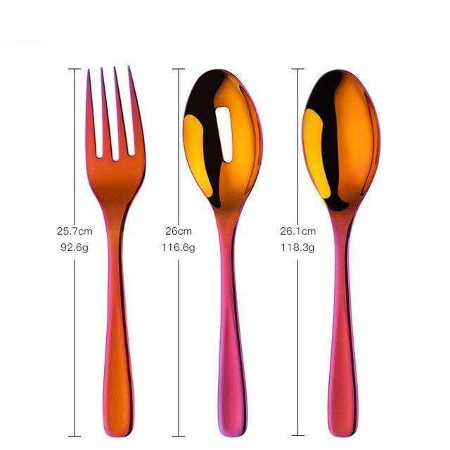 Sao Paulo Salad Serving Set