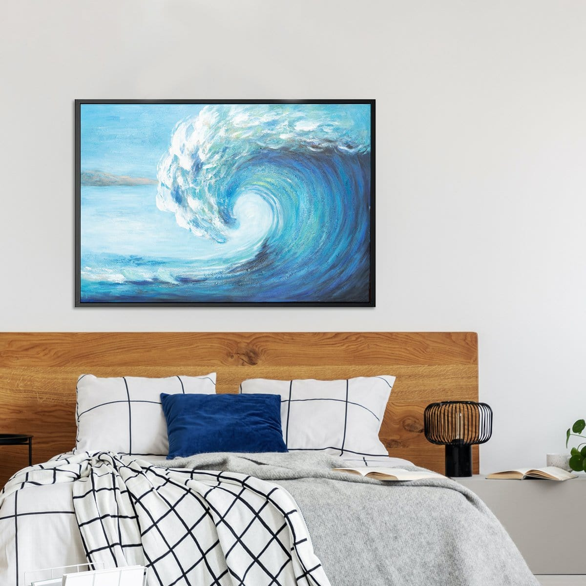 Island Wave Oil Painting