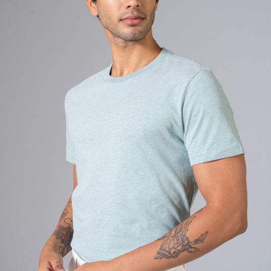 MINT CONDITION MINT GREEN ROUND NECK T-SHIRT