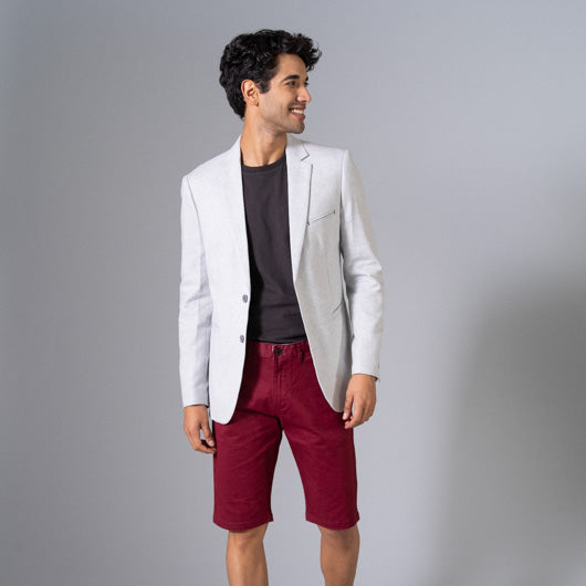Monsoon Swoon Off-White Linen Blazer