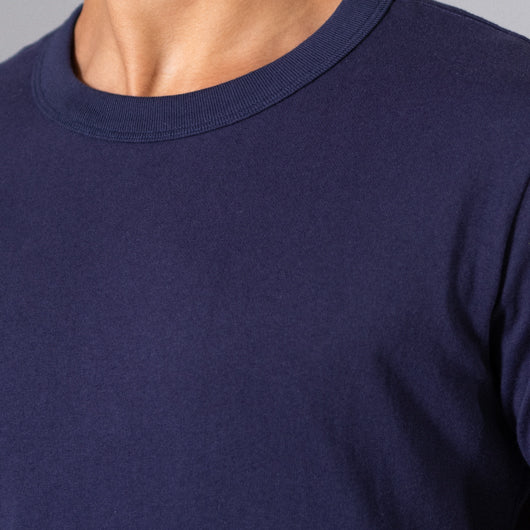 Imperial sapphire royal blue round neck t-shirt