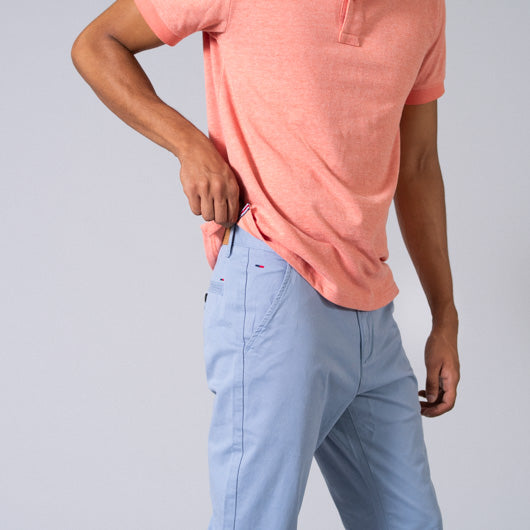 Pacific Swim Light Blue Cotton Lycra Stretch Chinos