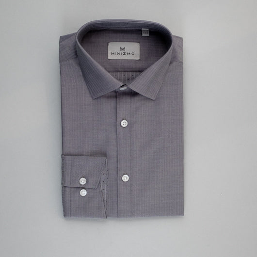 Formal Dot In Cotton Shirt