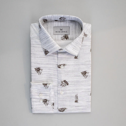 Yatch Hub Cotton Shirt