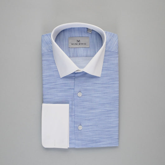 Faded Blue Cotton Shirt