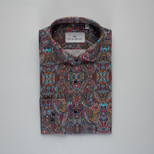 Tribally Printed Cotton Shirt