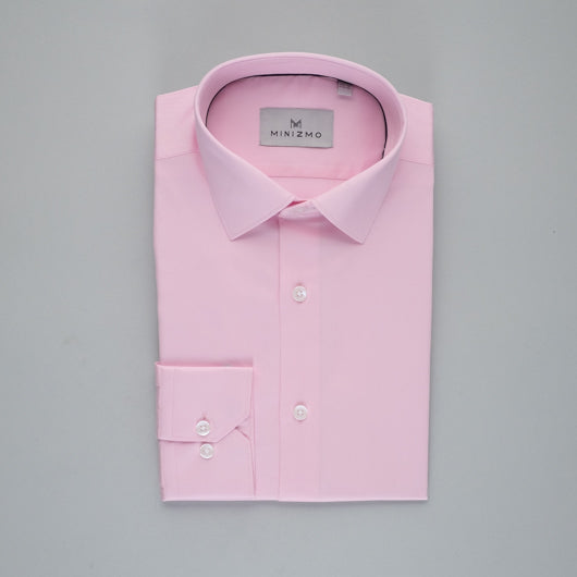 Formal Blush Cotton Shirt