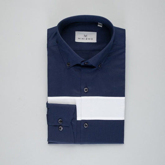 Monday Blues Cotton Shirt