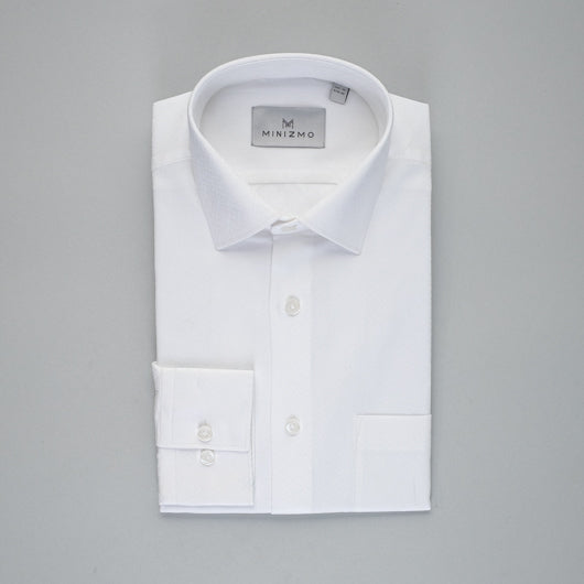 Chalky White Cotton Shirt