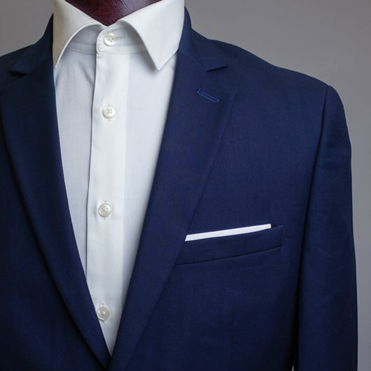 The Solid Absract Pocket Square