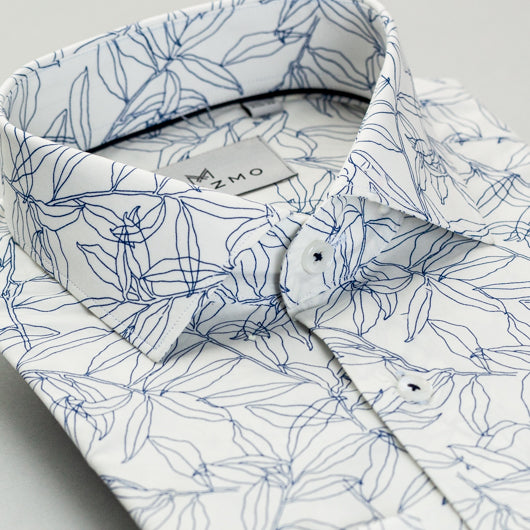 Leafy Periphery Cotton Shirt