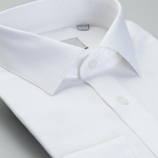 Modern White Cotton Shirt