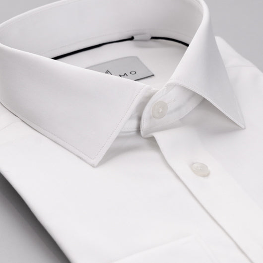 Hoary White Cotton Shirt
