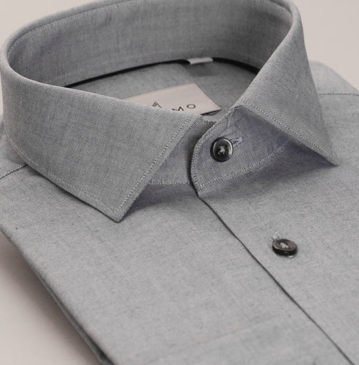 Shadow Grey Cotton Shirt