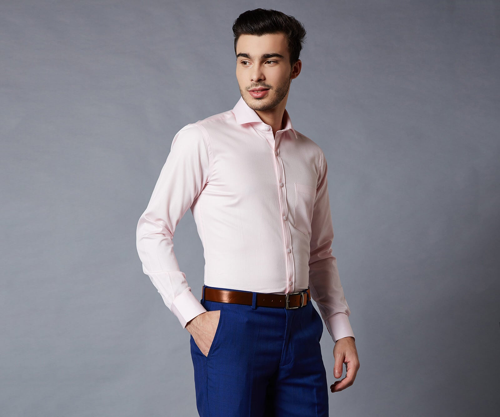 Kensington Pink Dress Shirt