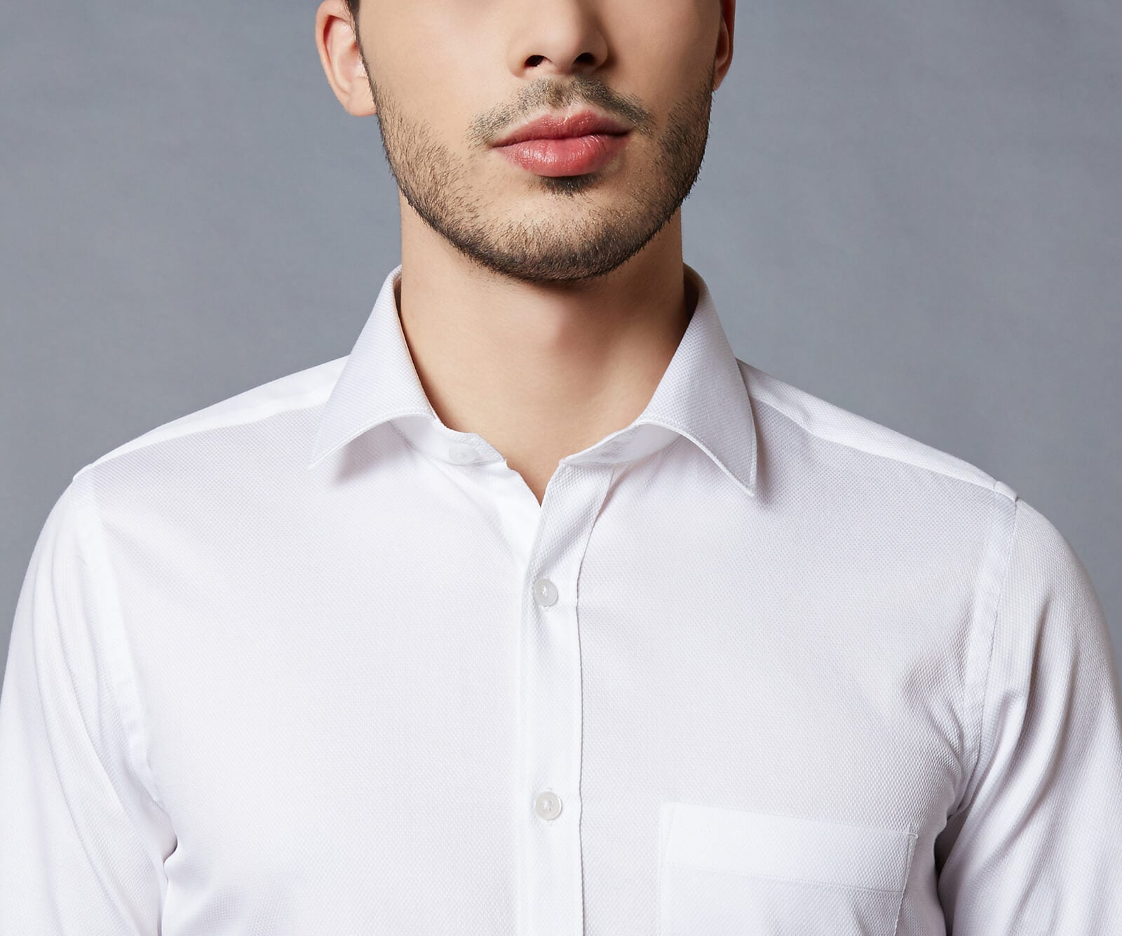 Kensington White Dress Shirt