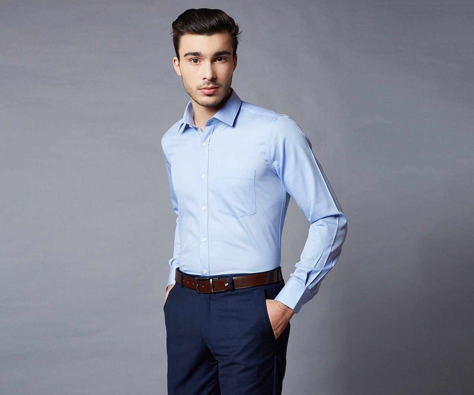 Kensington Blue Dress Shirt