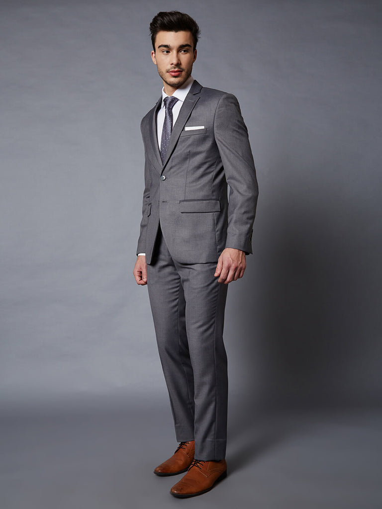 Dorchester Frozen grey 2 piece Suit
