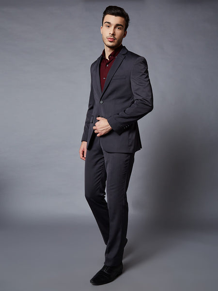 Portofino charcoal grey 2 piece suit