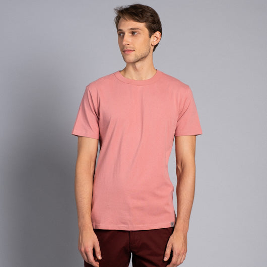 DESERT ROSE PINK ROUND NECK T-SHIRT