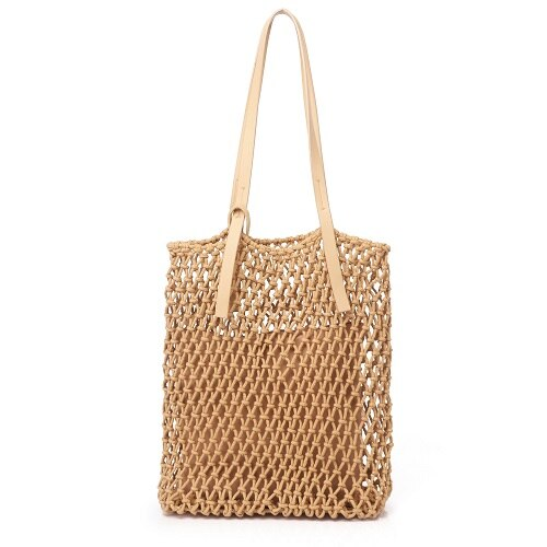 Sac Filet Crochet en Paille