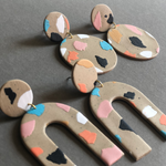 The Baked Clay Studio: Earrings (Various Styles)