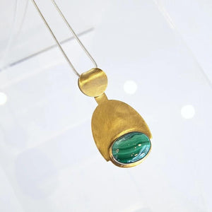 Kari Phillips: Malachite Necklace