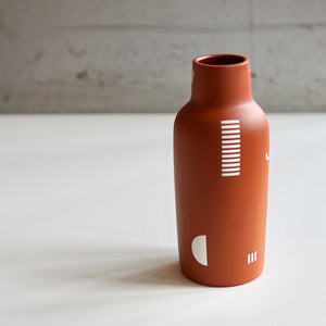 The Granite Rust Shape Ceramic Vase