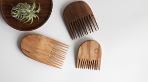 Elise McLauchlan: Hand Carved Combs