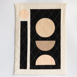 Ersa Fibers: Quilted Wall Hanging #1