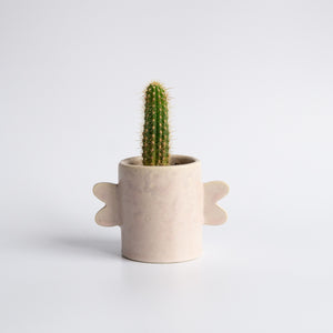 Bobbie Specker: Small Pearlescent Blush Planter
