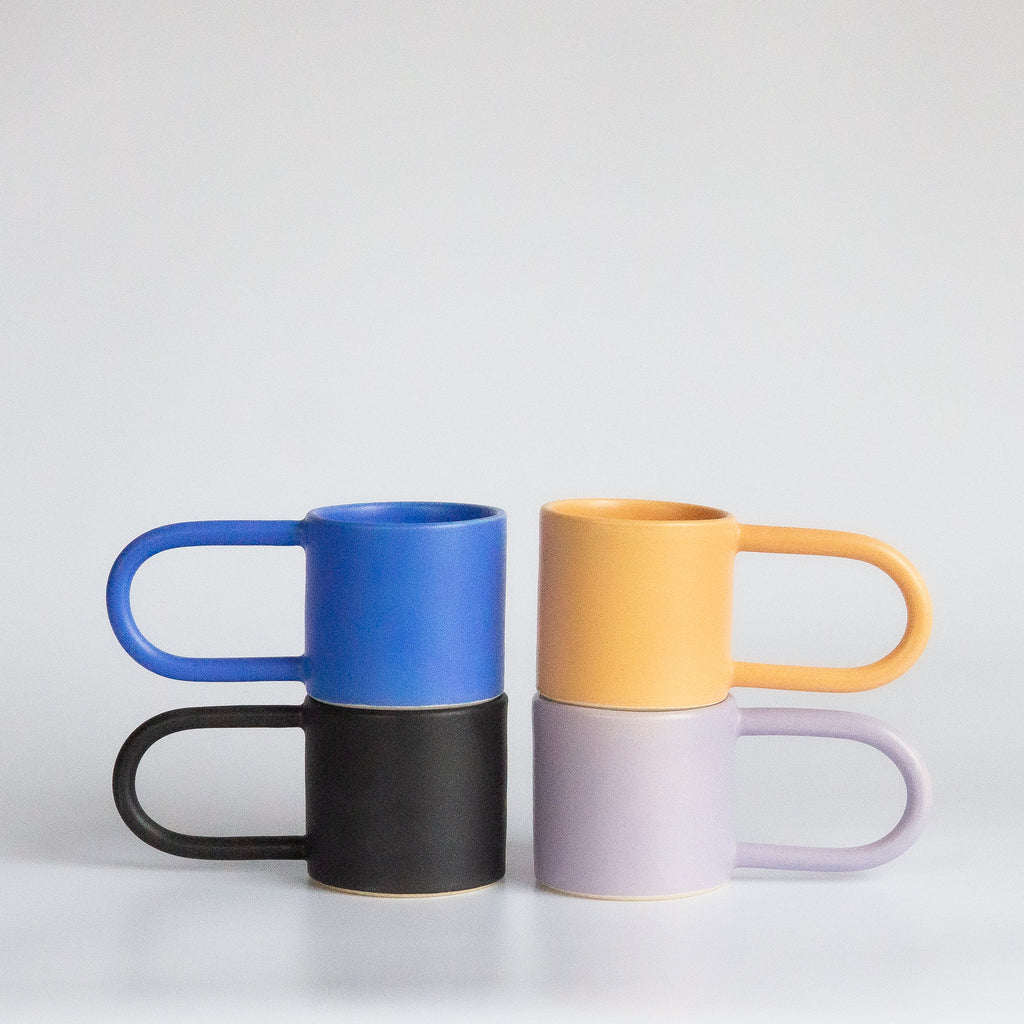I and You Ceramics: Long Handle Mugs (Barcelona Artist)
